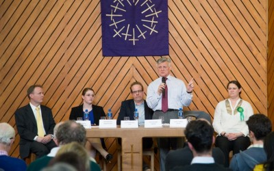 Selly Oak Constituency candidates take part in the General Election 2015 hustings event