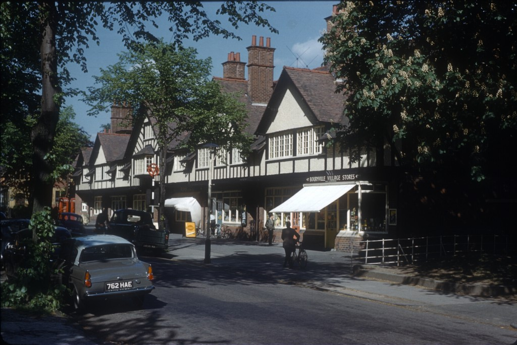 Bournville Village Green Shops - 25th May 1960