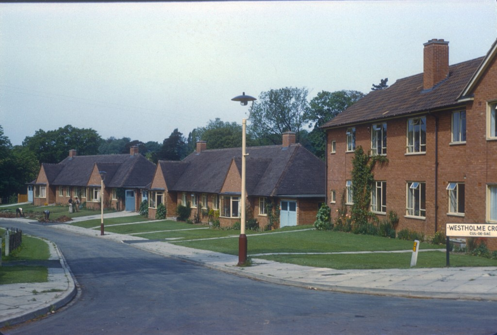 Bournville Westholme Croft, off Oak Tree Lane (1959-60 Houses) 26th May 1960