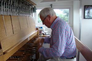 Carilloneur Trevor Workman