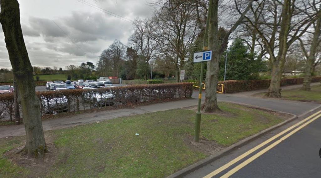 Rowheath Pavilion car park