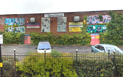 Stirchley Indoor Bowls Centre's current site at Hazelwell street.