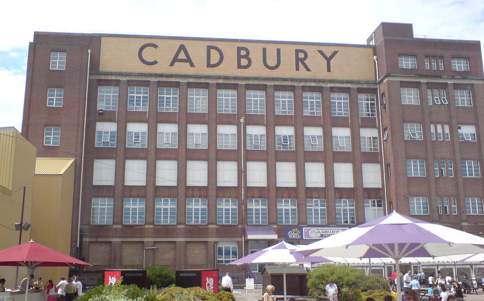 Image result for cadbury factory
